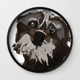 Thor the Dog Wall Clock
