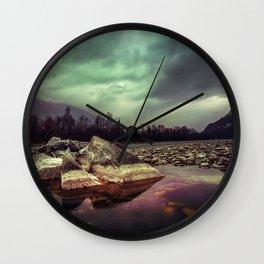 Mystic River Wall Clock