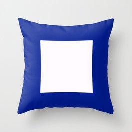 Semaphore P Throw Pillow