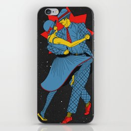 Cosmic Dancers iPhone Skin