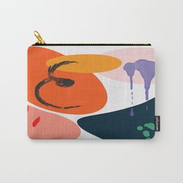 abstract dripping Carry-All Pouch