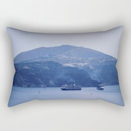Santorini, Greece 8 Rectangular Pillow