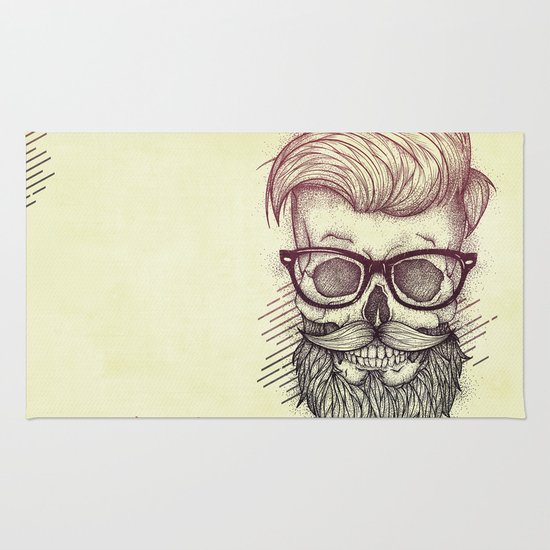 Hipster is Dead Rug
