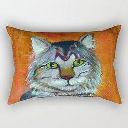 King of His Corner Rectangular Pillow