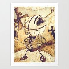 Ranaquattroluigicentotredici Art Print