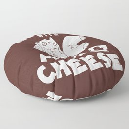 Mac And Cheese Gift Macaroni Cheesy Noodle Floor Pillow