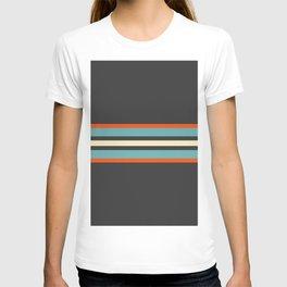 Classic Retro Stripes Amikiri T-shirt