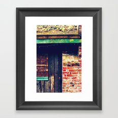 The Holiday Remains Framed Art Print