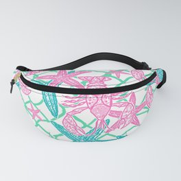 Nautical Starfish Fanny Pack