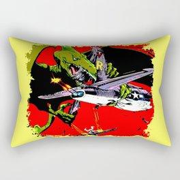 Kaiju Attack Rectangular Pillow