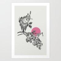 hunter Art Prints featuring Hunter by Zeke Tucker