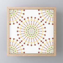 AFE Fruit Mandala Framed Mini Art Print