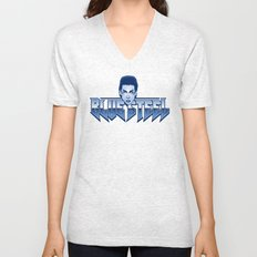 Blue Steel Unisex V-Neck