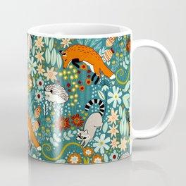 Woodland Pattern Coffee Mug