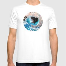 The Unstoppabull Force 2X-LARGE White Mens Fitted Tee