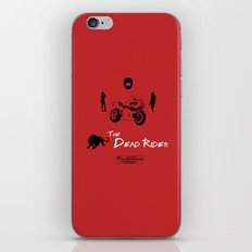 The Dead Rider iPhone & iPod Skin