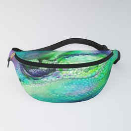 Camouflage Chameleon Fanny Pack