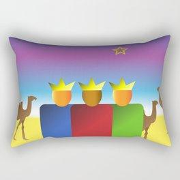 Three Kings Rectangular Pillow