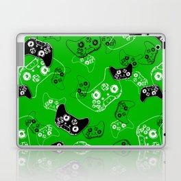 Video Game Green Laptop & iPad Skin