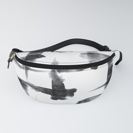 Abstract Brush Stokes Fanny Pack