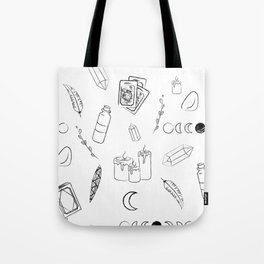 Witchy Stuff Tote Bag