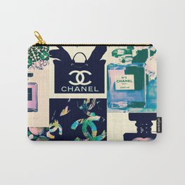 CC No.5 Fashion Collage Carry-All Pouch