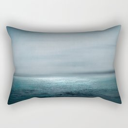 Sea Under Moonlight Rectangular Pillow