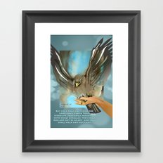 Wings Of Eagles Framed Art Print
