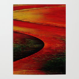 Abstract: travel to Mars Poster