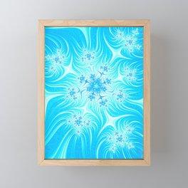 Christmas Stars And Snowflakes Framed Mini Art Print