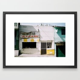 Tortilleria Framed Art Print