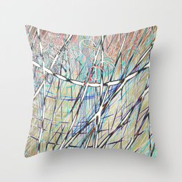 SL Candy Throw Pillow