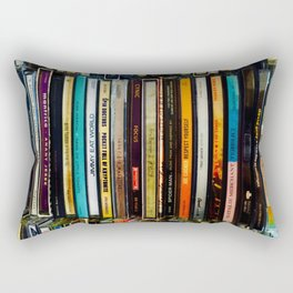 Music Cds Rectangular Pillow