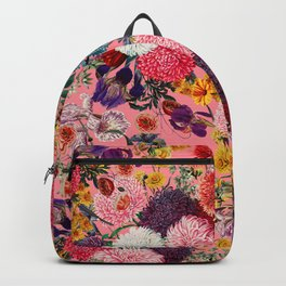Floral Pink Pattern Backpack