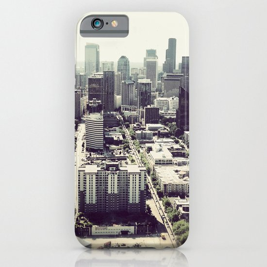 downtown seattle iPhone & iPod Case