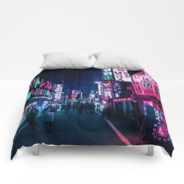 Nocturnal Alley Comforters