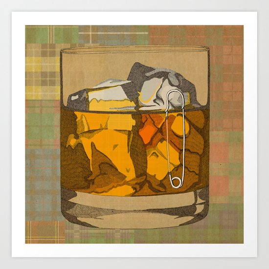 Scotch  Art Print