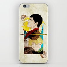 The King and His Sorceror iPhone & iPod Skin