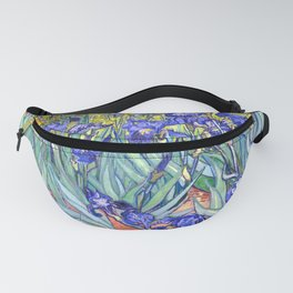 Vincent Van Gogh Irises Fanny Pack