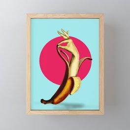 El Banana Framed Mini Art Print