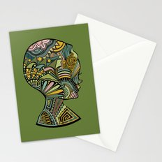 Beauty of the mind Stationery Cards