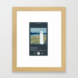 phoebe bridgers motion sickness Framed Art Print