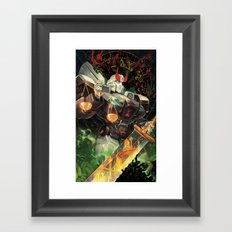 Weight of Justice Framed Art Print