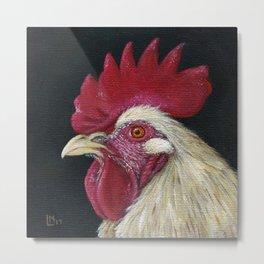 Rooster Metal Print
