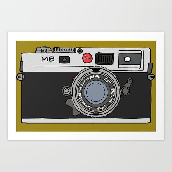 Camera, 2 Art Print
