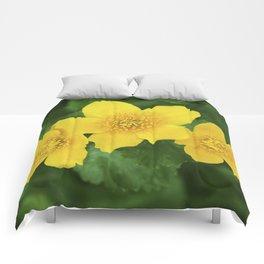 Marsh Marigold Caltha Palustris Comforters
