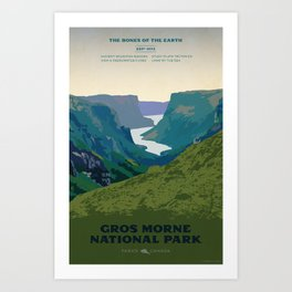 Gros Morne Art Print