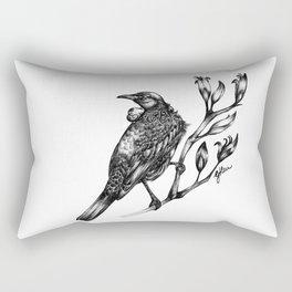 New Zealand Tui Rectangular Pillow