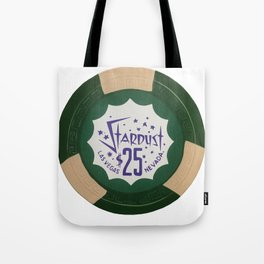 Stardust Green - Casino Chip Series Tote Bag