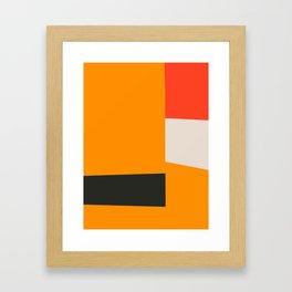 Mid Century Minimal 2 Framed Art Print